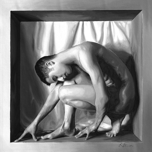 Male Painting - Youth by E Gibbons