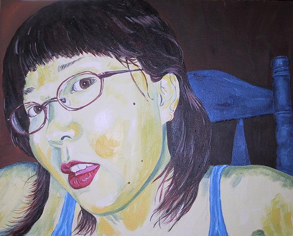 Kevin Callahan Painting - Yuka by Kevin Callahan