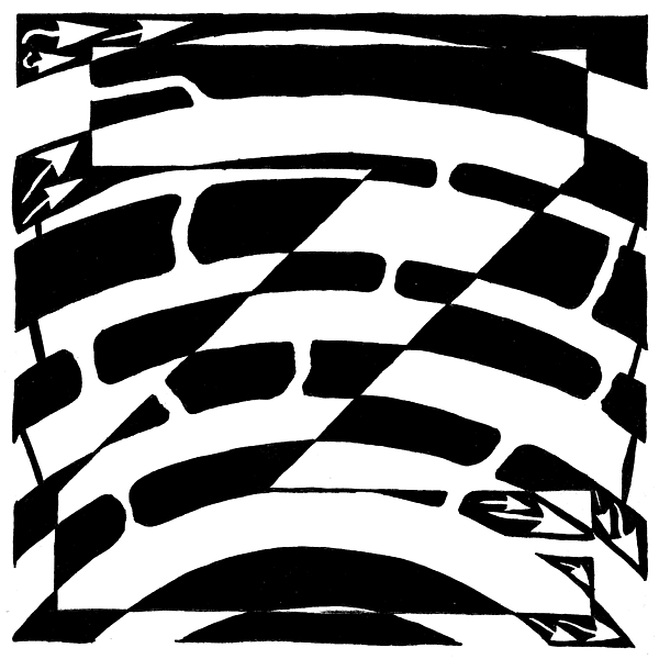 Maze Drawing - Z Maze by Yonatan Frimer Maze Artist