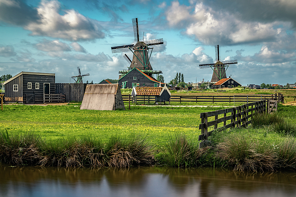 Amsterdam Photograph - Zaanse Schans And Farm by James Udall
