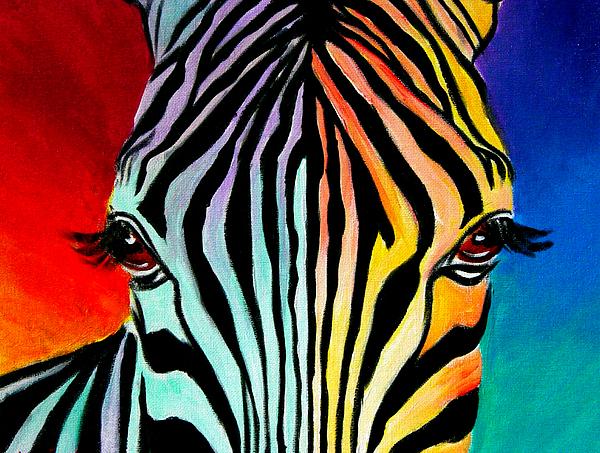 Painted Zebra - Natural
