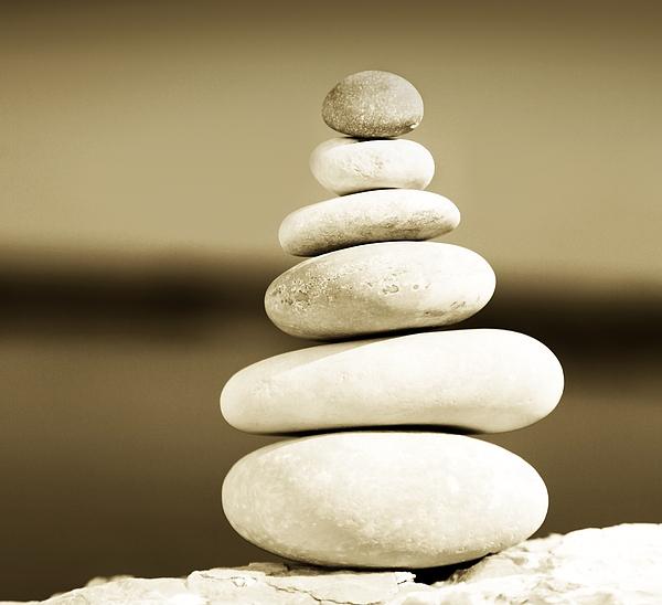 Abstract Photograph - Zen Balance by Anna Om