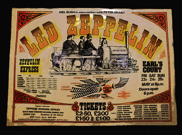 Artwork Painting - Zeppelin Express by David Lee Thompson