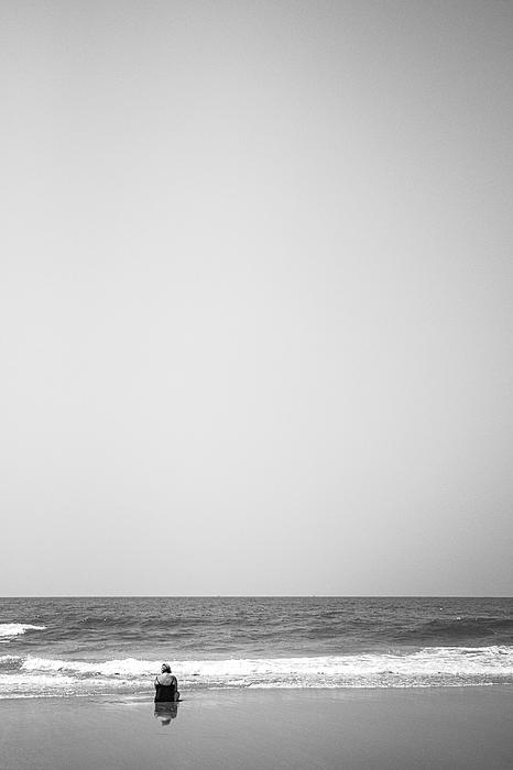 Beach Photograph by Afshin Saeidinia