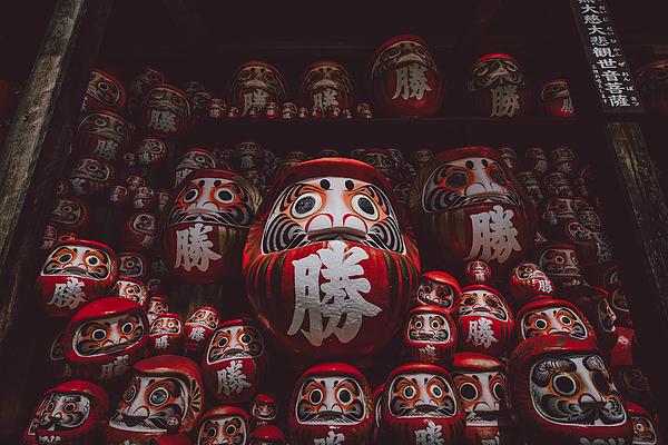Daruma Temple Photograph by Makoto Kakegawa