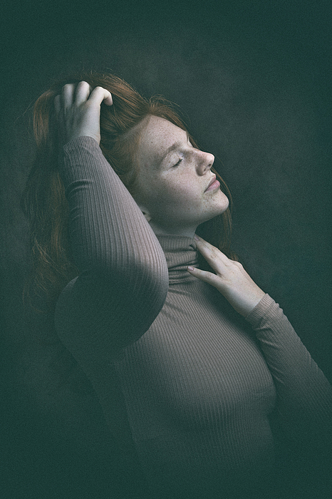 Elena Photograph by Ruth Franke