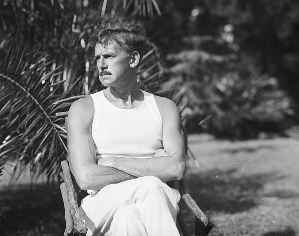 Eugene Oneill Relaxing In Bermuda Photograph by Bettmann