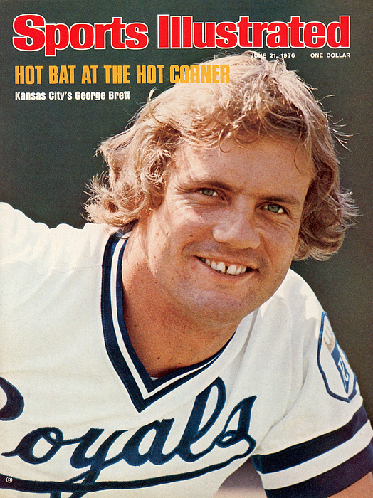 Kansas City Royals George Brett Sports Illustrated Cover by Sports  Illustrated
