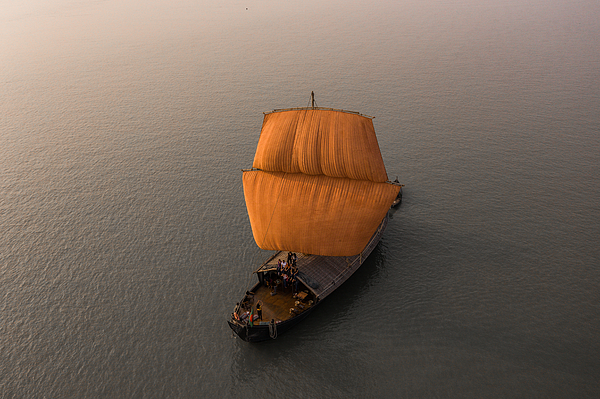 Malar Boat Photograph by Sultan Ahmed Niloy