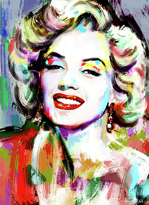 Marilyn Monroe Drawing Painting