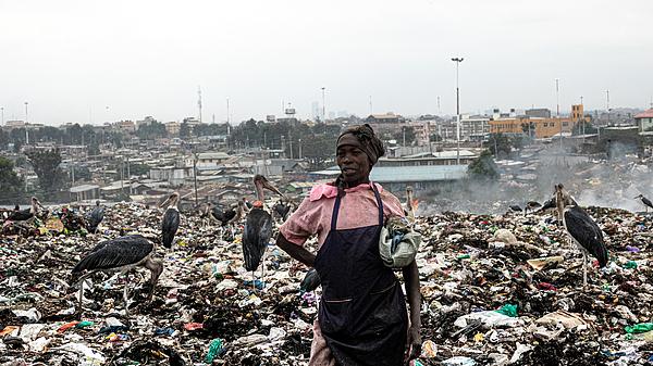 No Break At Dandora Dump, Nairobi Photograph by Elena Molina