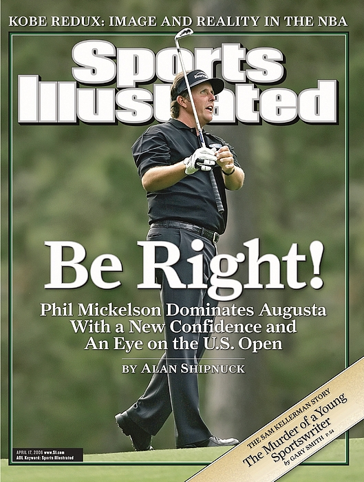 Phil Mickelson, 2006 Masters Sports Illustrated Cover  by Sports Illustrated