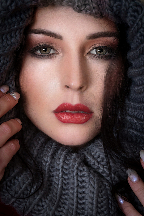 Red Lips Photograph by Ruth Franke