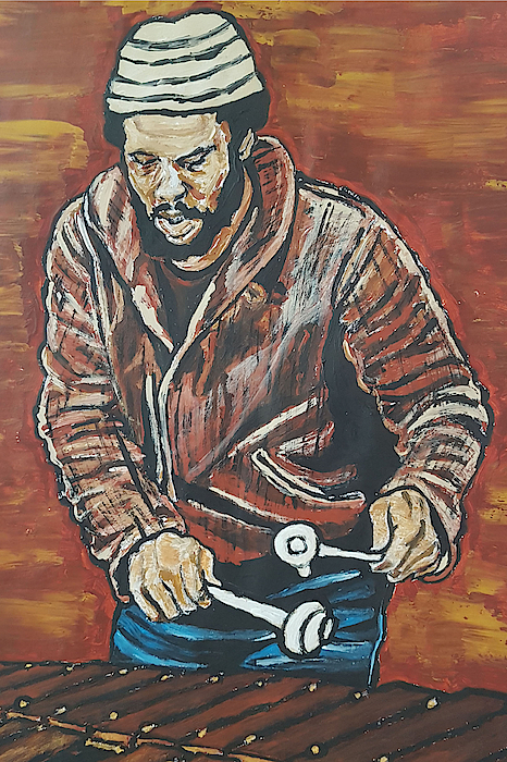 Roy Ayers Painting - Roy Ayers by Rachel Natalie Rawlins