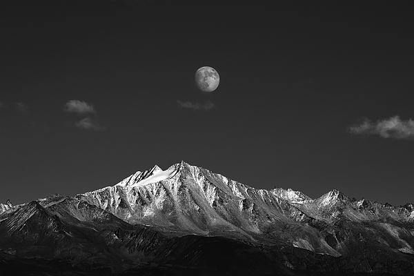 Sacred Mt. Yala, Kangding Photograph by Raymond Ren Rong Liu