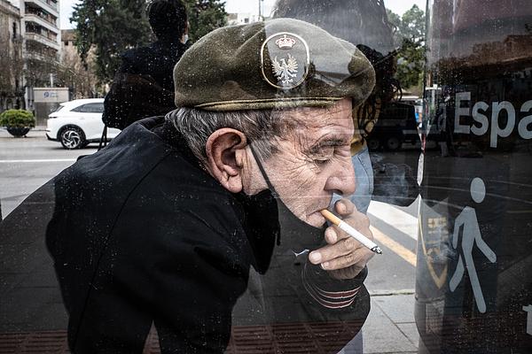 Smoking Army Photograph by Pablo Abreu