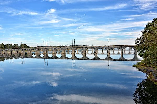 Harrisburg Photograph - Susquehanna River by Brendan Reals