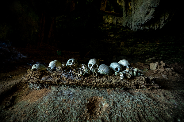 The Graves Photograph by Prianto Puji Anggriawan