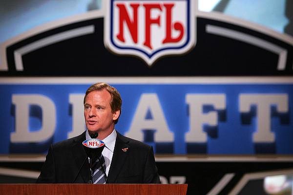 2007 NFL Draft Photograph by Chris McGrath