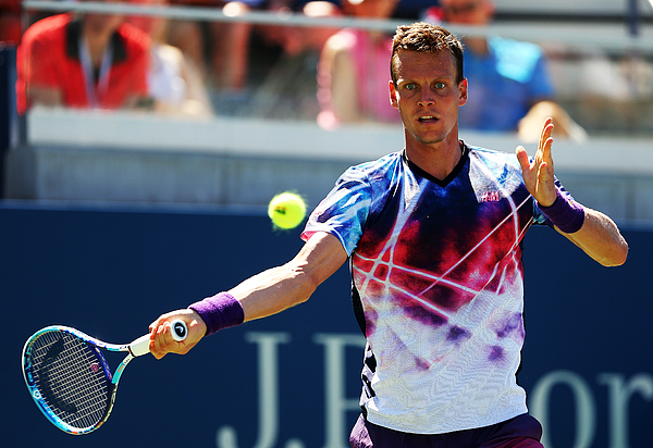 2015 U.S. Open - Day 6 Photograph by Elsa