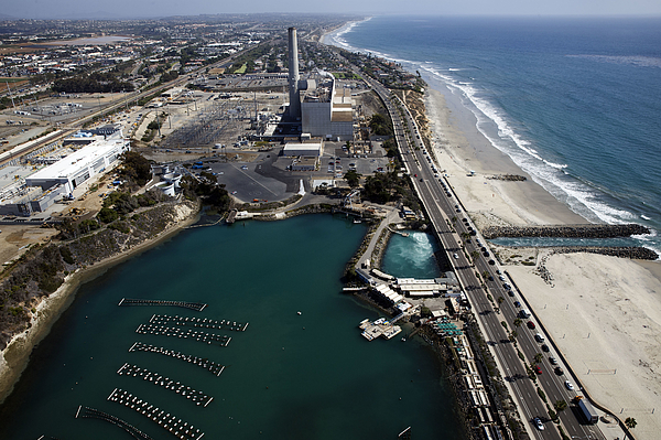 Aerial Views Of Construction On The Carlsbad Desalination Plant Photograph by Bloomberg