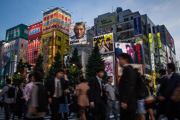 Akihabara - Mecca Of Electronics Photograph by Chris McGrath