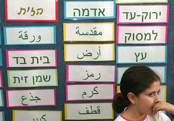 Arab And Jewish Children Study Together In Israeli School Photograph by David Silverman