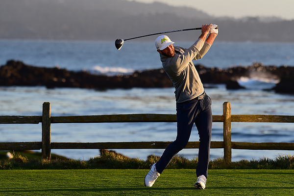 AT&T Pebble Beach Pro-Am - Round Three Photograph by Harry How