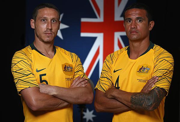Australian Socceroos Portrait Session Photograph by Robert Cianflone