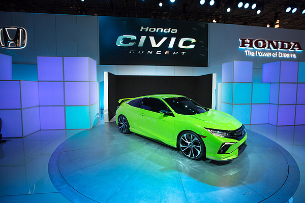 Automakers Showcase New Models At New York International Auto Show Photograph by Kevin Hagen