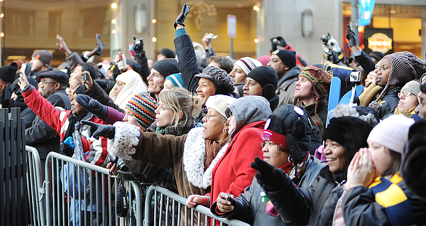 Barack Obama Is Sworn In As 44th President Of The United States Photograph by Emily Barnes