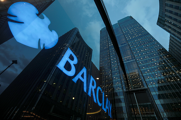 Barclays Plc Headquarters And Bank Branches As Company Considers Dublin For Their Eu Base Photograph by Bloomberg