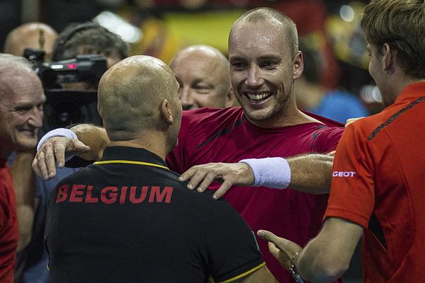 Belgium v Argentina Davis Cup Semi Final 2015 - Day 3 Photograph by Jorge Luis Alvarez Pupo