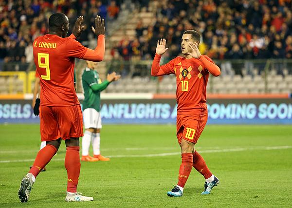 Belgium v Mexico - International Friendly Photograph by Jean Catuffe