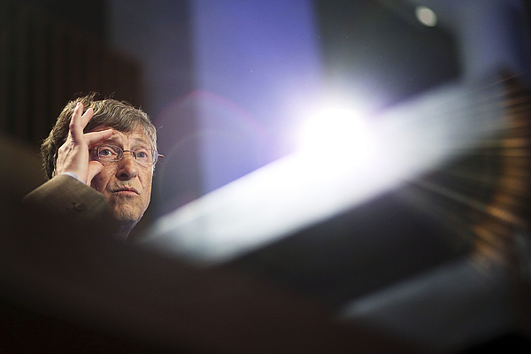 Bill Gates Lobbies Australia For Increased Overseas Aid Funding Photograph by Stefan Postles