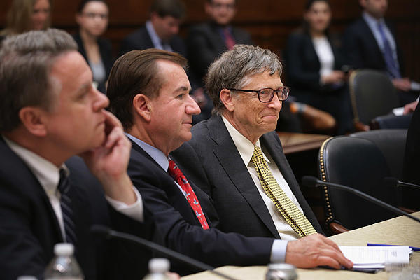 Bill Gates Meets With House Foreign Affairs Cmte Chairman Royce Photograph by Chip Somodevilla