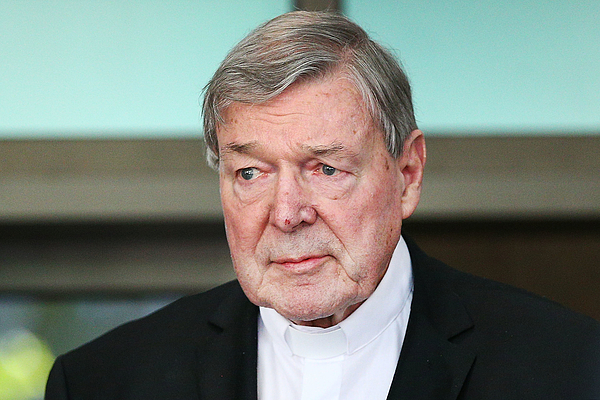 Cardinal George Pell Committed To Stand Trial On Historical Child Abuse Charges Photograph by Michael Dodge