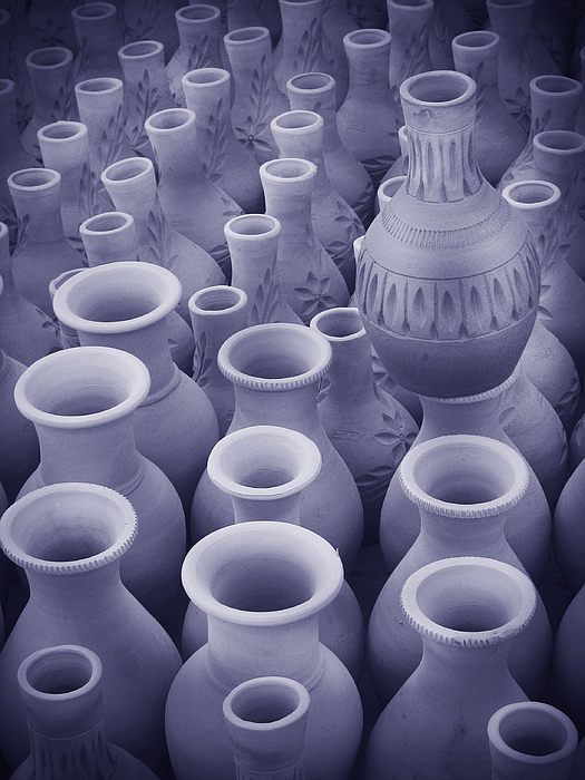 Clay pottery work Photograph by Bashir Osmans Photography