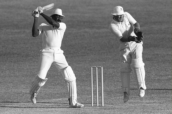 Clive Lloyd of the West Indies Photograph by Adrian Murrell
