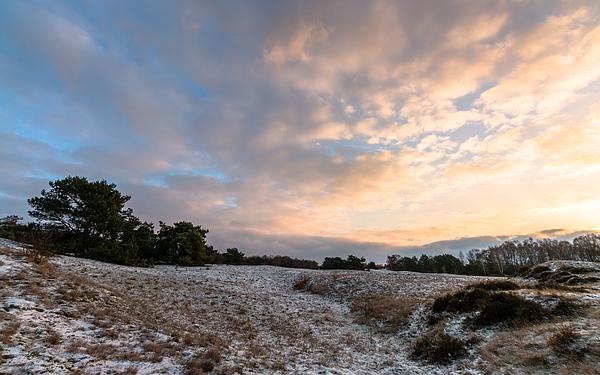Cloudy Sunrise Photograph by William Mevissen