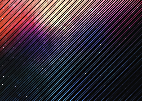 Colorful Half tone pattern background with space and stars Drawing by GeorgePeters