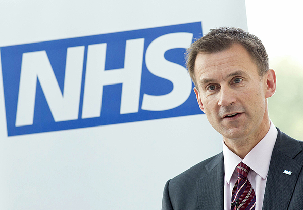 David Cameron And Jeremy Hunt Visit A Hospital To Mark The 65th Anniversary Of The NHS Photograph by WPA Pool