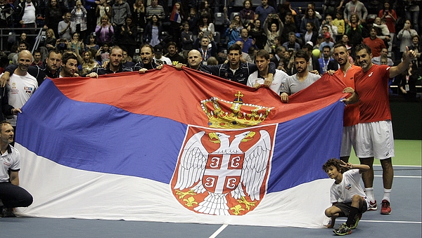 Davis Cup World Group Photograph by Anadolu Agency