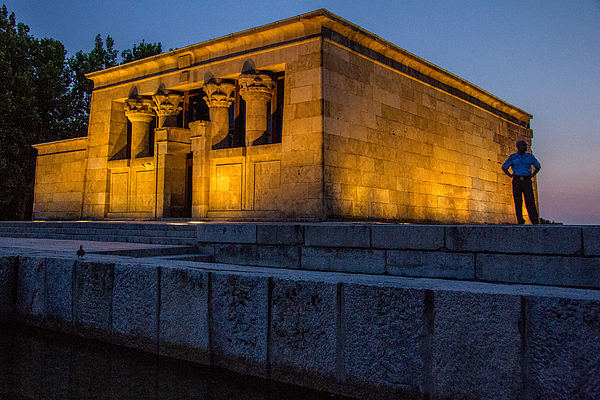 Debod Egyptian Temple, Madrid Photograph by David Delgado Ruiz Photography