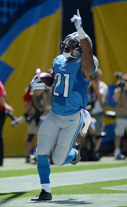 Detroit Lions v San Diego Chargers Photograph by Donald Miralle