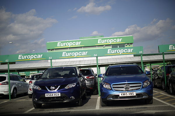 Europcar Hire Sites And Vehicles Ahead Of IPO Photograph by Bloomberg