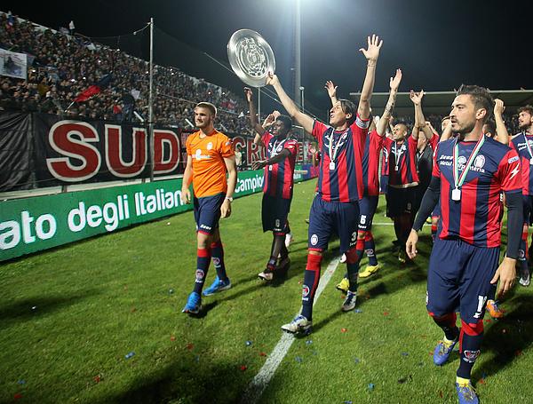 FC Crotone v Virtus Entella - Serie B Photograph by Maurizio Lagana