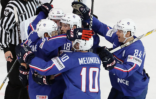 Finland v France - 2017 IIHF Ice Hockey World Championship Photograph by Xavier Laine