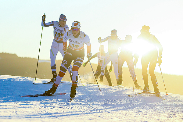 FIS Nordic WorldCup - Mens and Womens  CC Skiathlon Photograph by Laurent Salino/Agence Zoom