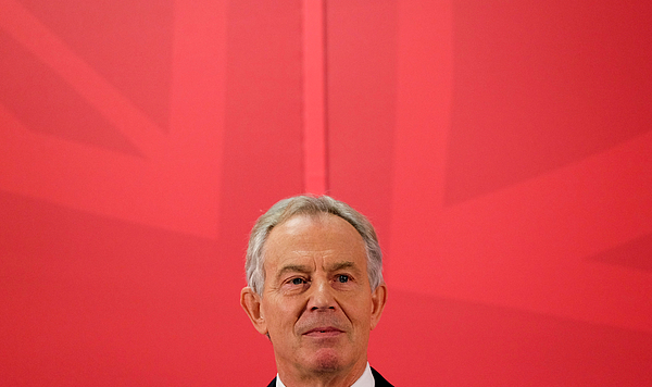 Former Prime Minister Tony Blair Returns To His Old Constituency Photograph by Ian Forsyth